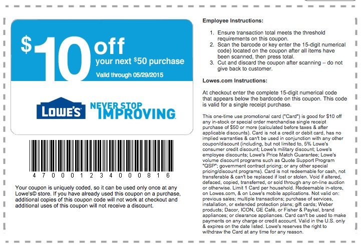 at home 10 off coupon for lowes printable coupons 11879