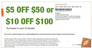December Home Depot Printable Coupon